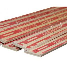 20x5 mm Smoothedge tapijtlat combi voorgenageld